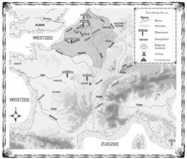 Kaart Ganda 2 - Volk van de Adelaar